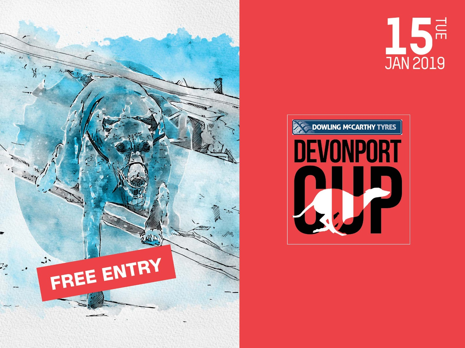 Dowling McCarthy tyres Devonport Greyhound Cup