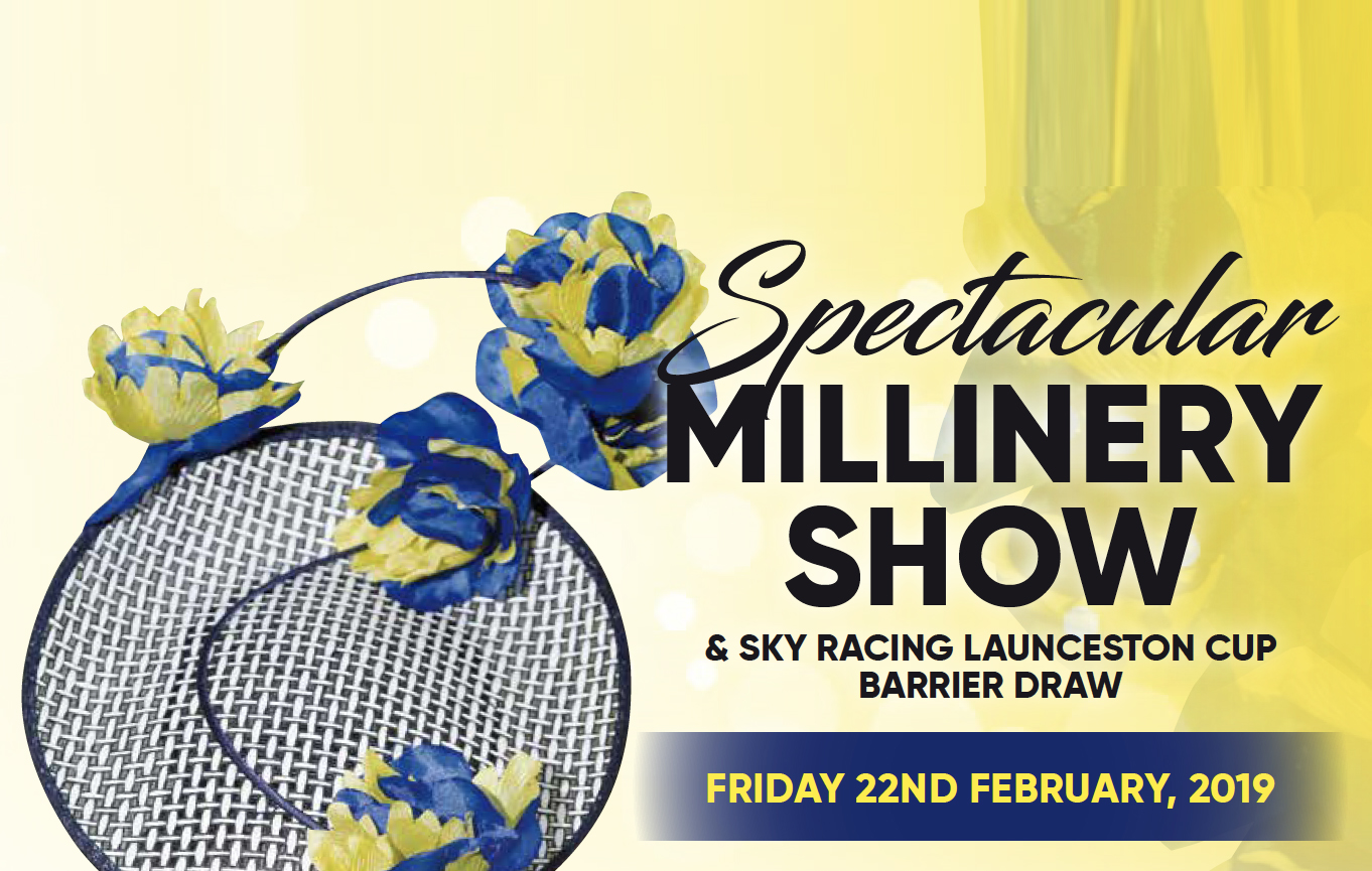Millinery Show and Barrier Draw