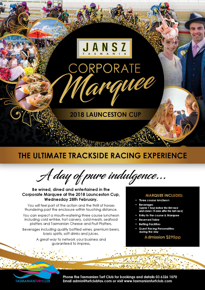 Launceston Cup Corporate Marquee