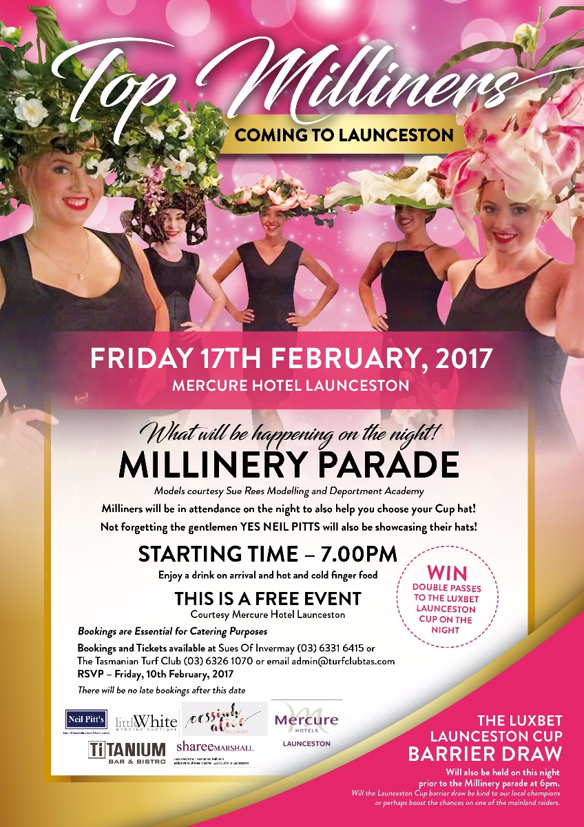 Luxbet Launceston Cup Barrier Draw and Fashion Parade