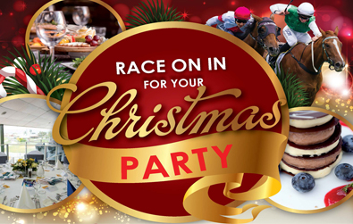Christmas Party racing under lights
